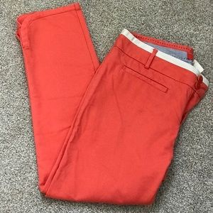 Cortonellier Coral Cropped Pants